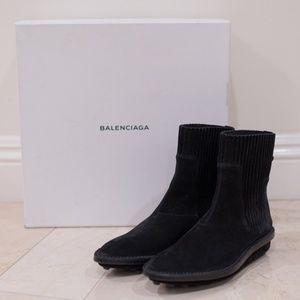 Balenciaga Suede Boots